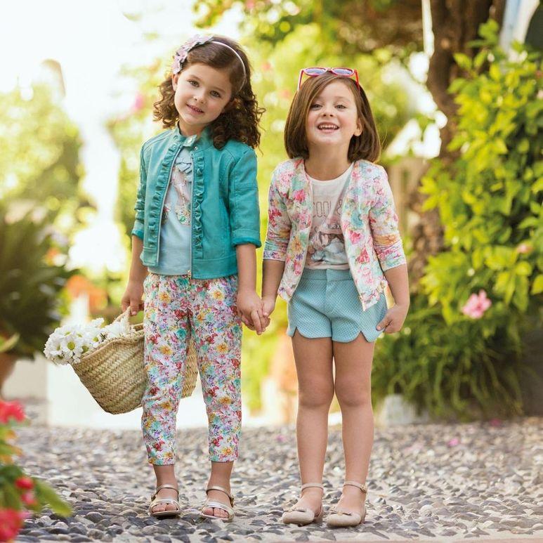 испанский стиль в детской одежде