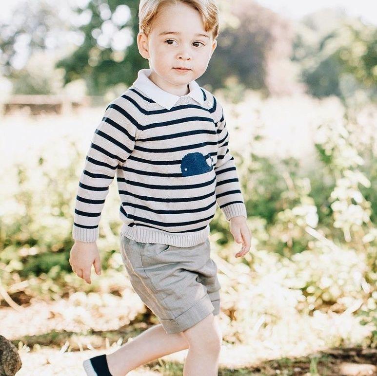 Великобритания маленький принц Джордж