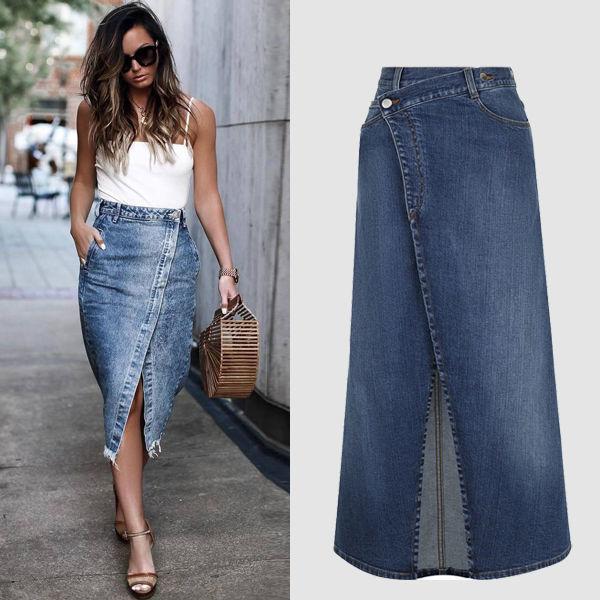 531fad9fe7e Модные джинсовые юбки  какие фасоны лучше носить в 20