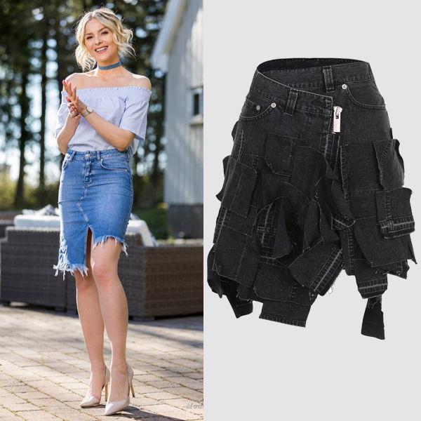 5b0bb4800d2 Модные джинсовые юбки  какие фасоны лучше носить в 20