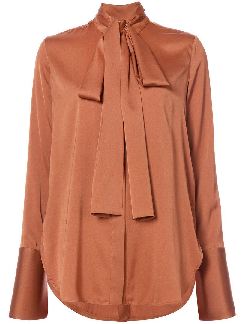 Блуза с бантом Ellery, цена: от 33 528 руб.