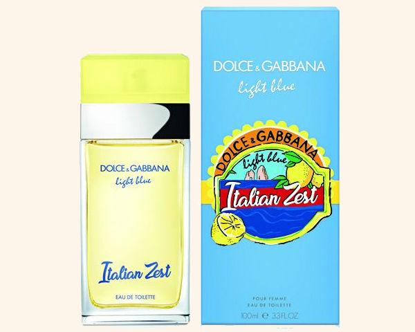 Аромат Light Blue Italian Zest от Dolce&Gabbana, цена: от 6 300 руб.