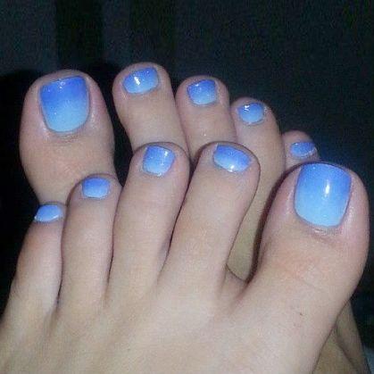 Голубой градиент